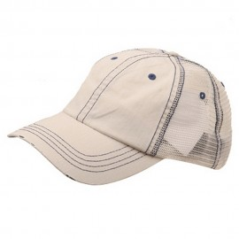 Low Profile Special Cotton Mesh Cap-Putty