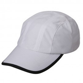 Knitted Casual Cap-White Black
