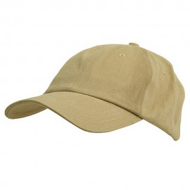 6 Panel Light Cotton Cap / Khaki