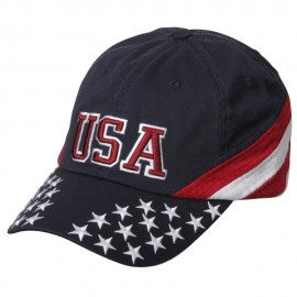Patriotic Cap - Navy USA Star