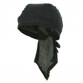 Denim Series Head Wraps-Dark Blue