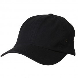Normal Dyed Washed Cap-Navy
