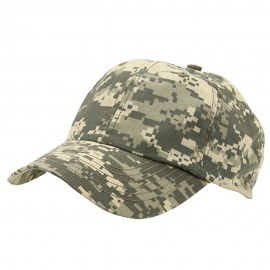Enzyme Washed Camo Cap-Digital Camo