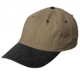 Pigment Dyed Wash Cap-Khaki Black
