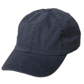 Pigment Dyed Wash Cap-Navy