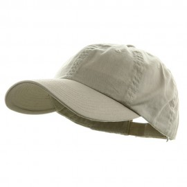 Low Profile Dyed Cotton Twill Cap - Putty