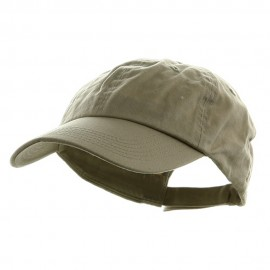 Washed Chino Twill Cap - Stone