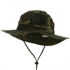 Big Size Washed Hunting Hats -Camo