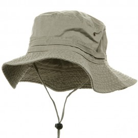 Extra Big Size Fishing Hat-Beige