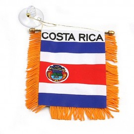 World Mini Banner-Costa Rica