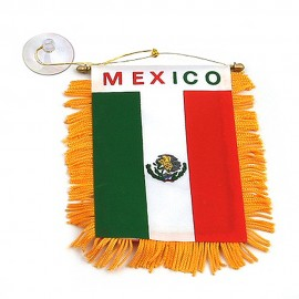 World Mini Banner-Mexico