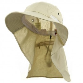 UV 45+ Extreme Condition Flap Hats -Stone