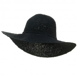 Ladies Hand Crocheted Hats-Navy