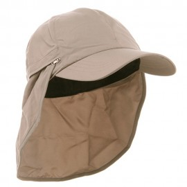 Zippered Flap Caps