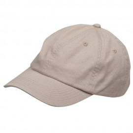 Youth Washed Chino Twill Cap-Stone