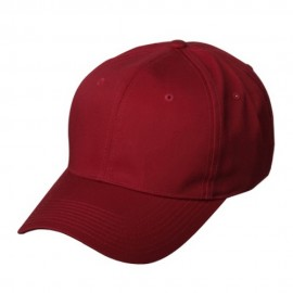 New High Profile Twill Cap-Wine