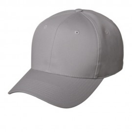 New High Profile Twill Cap-Lt. Grey
