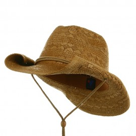 Ladies Toyo Cowboy Hat - Coffee