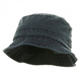 Washed Hat-Navy