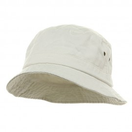 Washed Hat-White