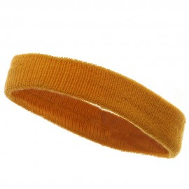 Head Band (terry)-Yellow