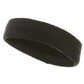 Headbands (terry)-Dk Grey