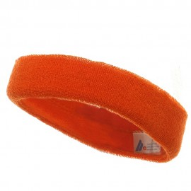 Headband (terry)-Orange