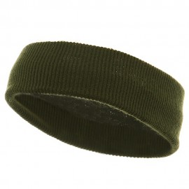 Head Band (wide)-Olive