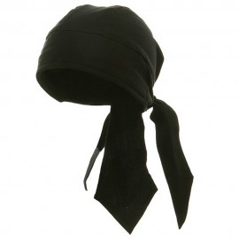 Deluxe Series Head Wraps- Solid Black