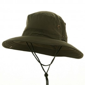 Big Size Floatable Nylon Oxford Hat - Olive