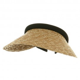 Straw Clip On-Natural Black