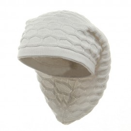New Rasta Honey Beanie without Brim-White