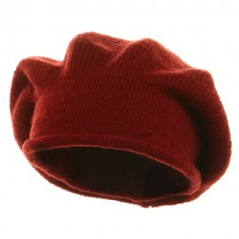 New Rasta Beanie Hat - Red