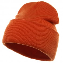 Long Beanie-Orange