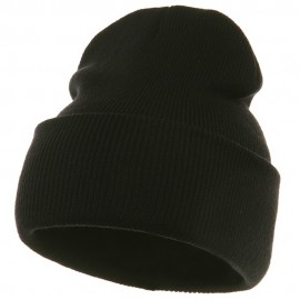 Long Beanie-Black