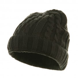 Twister Ski Beanie-Charcoal Grey