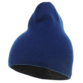 Short Beanie - Royal Blue