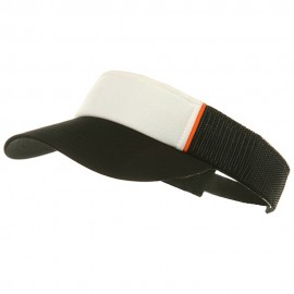 Mesh Visors-Black-White