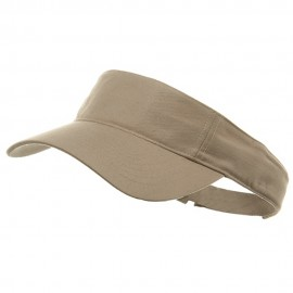 PET SPUN Fabric Sports Visor - Khaki