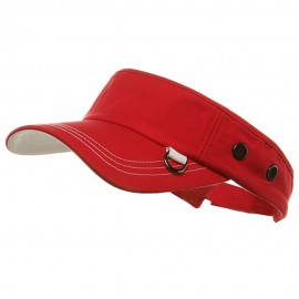 Pro Style Ring Visors-Red