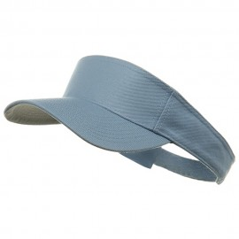 Cotton Sports Visors-Baby Blue
