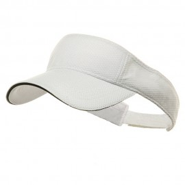 Athletic Mesh Visor-White