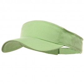 Brushed Sports Visor-Lime