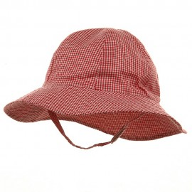 Toddler Check Design Bucket Hat