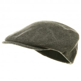 Elastic Wool Ivy Cap - Grey
