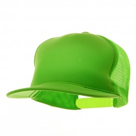 5 Panel Neon Color Poly Mesh Cap