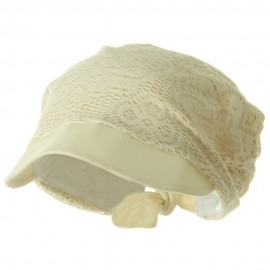 Ladies Jacquard Mesh Hat - Natural