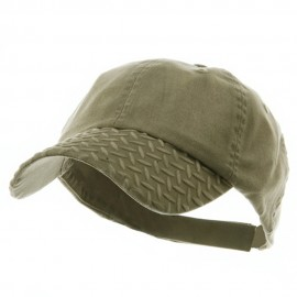 Diamond Plate Washed Cotton Cap