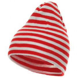 Trendy Striped Beanie
