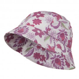 Youth Floral Bucket Hat